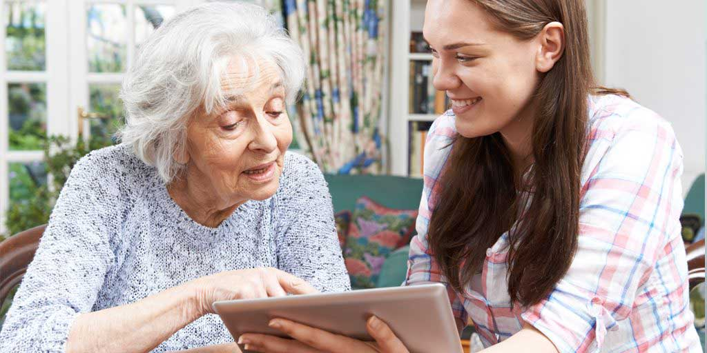 Introducing Seniors to Aging in Place Technology